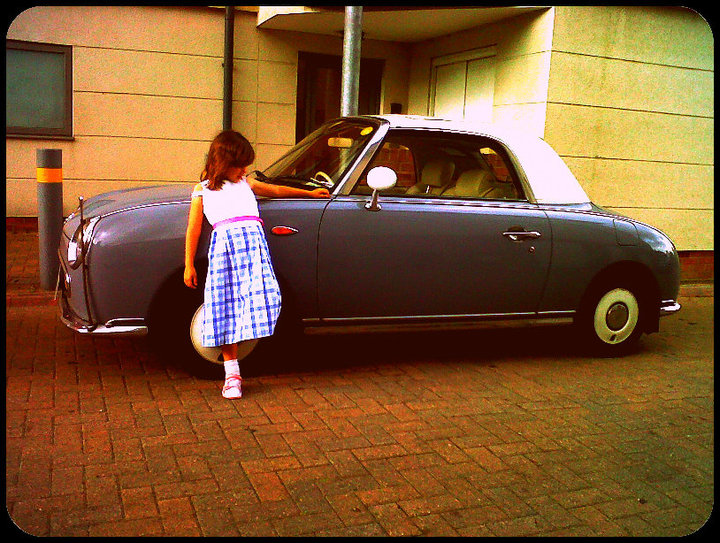 Little girl car rebecca