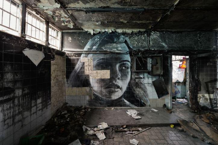 woman-face-on-broken-tiles