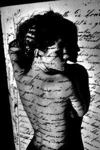woman writing her story