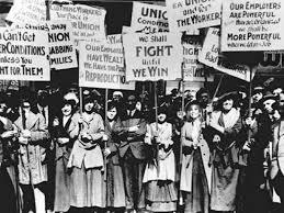 feminist rally image